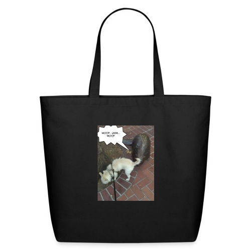 Naughty lil beaver - Eco-Friendly Cotton Tote