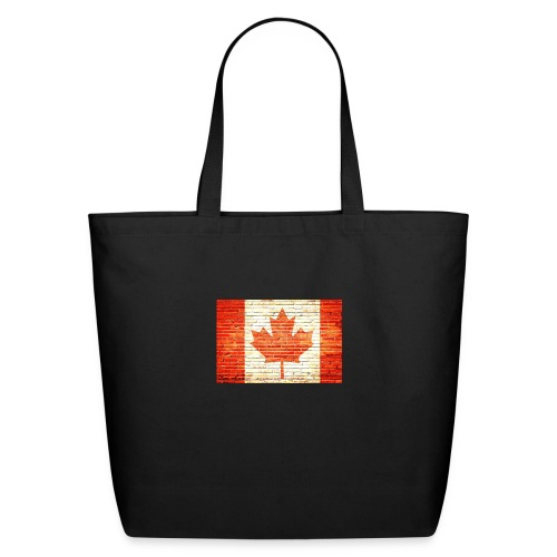 Canada flag - Eco-Friendly Cotton Tote