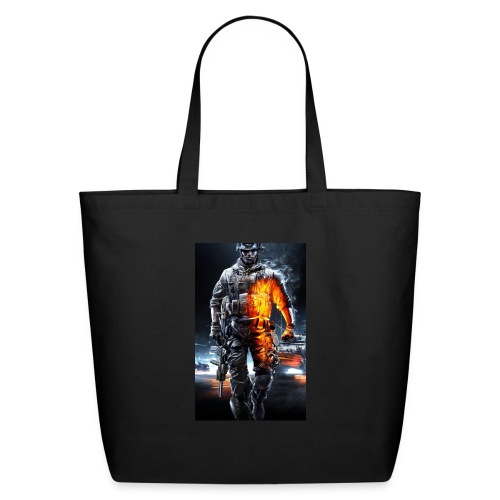 Cod fan - Eco-Friendly Cotton Tote