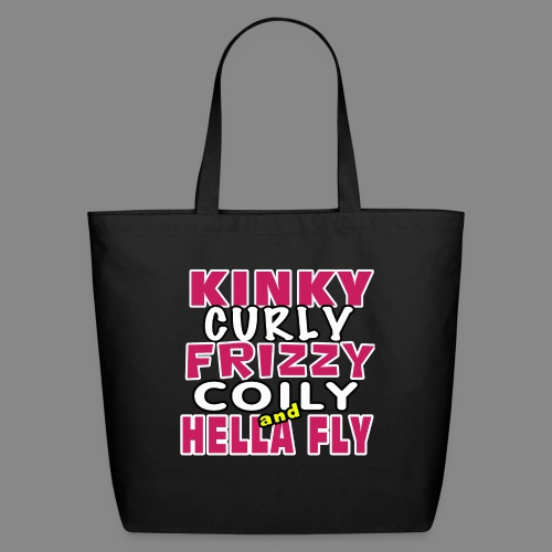 Kinky Curly Frizzy - Eco-Friendly Cotton Tote