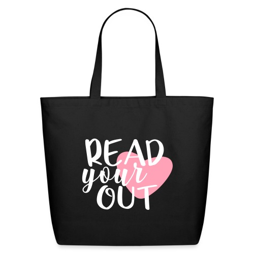 Read Your Heart Out Teacher T-Shirts - Eco-Friendly Cotton Tote