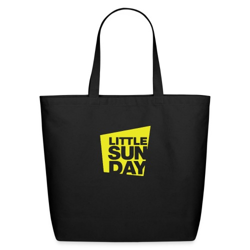 littleSUNDAY Official Logo - Eco-Friendly Cotton Tote