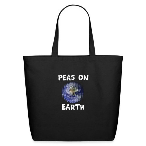 Peas on Earth! - Eco-Friendly Cotton Tote