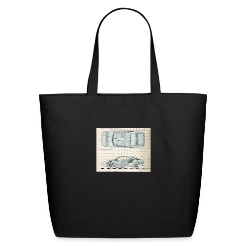 drawings - Eco-Friendly Cotton Tote