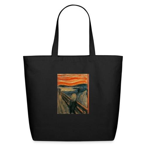 The Scream (Edvard Munch) - Eco-Friendly Cotton Tote