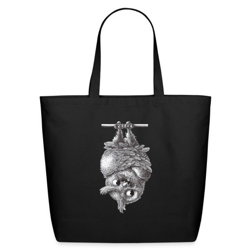 Vampire - Dracula Owl - Eco-Friendly Cotton Tote