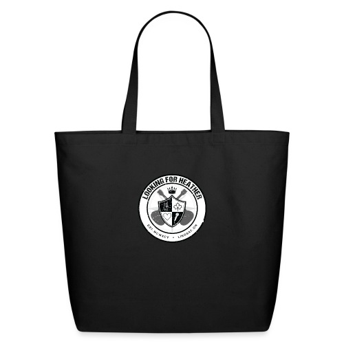 Looking For Heather - Crest Logo - Eco-Friendly Cotton Tote