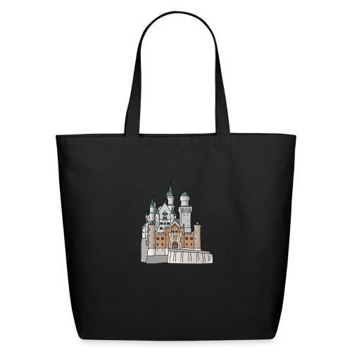 Neuschwanstein Castle, Bavaria - Eco-Friendly Cotton Tote