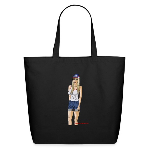 Gina Character Design - Eco-Friendly Cotton Tote
