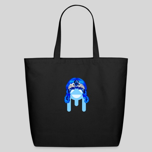 ALIENS WITH WIGS - #TeamMu - Eco-Friendly Cotton Tote