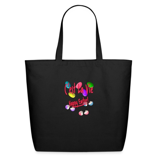 C'est La Vie, Easter Broken Eggs, Cest la vie - Eco-Friendly Cotton Tote