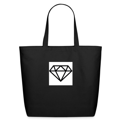 diamond outline 318 36534 - Eco-Friendly Cotton Tote