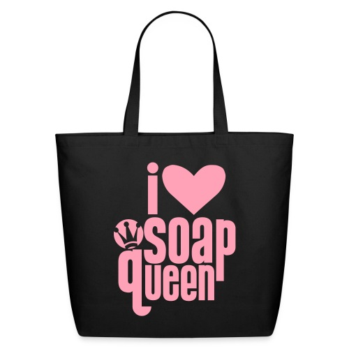 I heart Soap Queen - Eco-Friendly Cotton Tote
