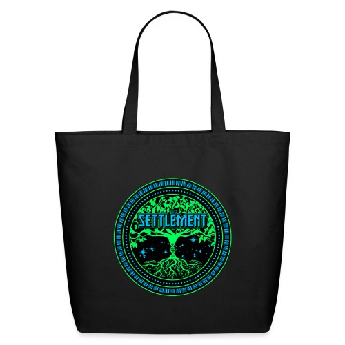 Full Color Logo | The Settlement - Eco-Friendly Cotton Tote