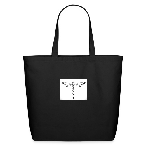 cool dragonfly - Eco-Friendly Cotton Tote
