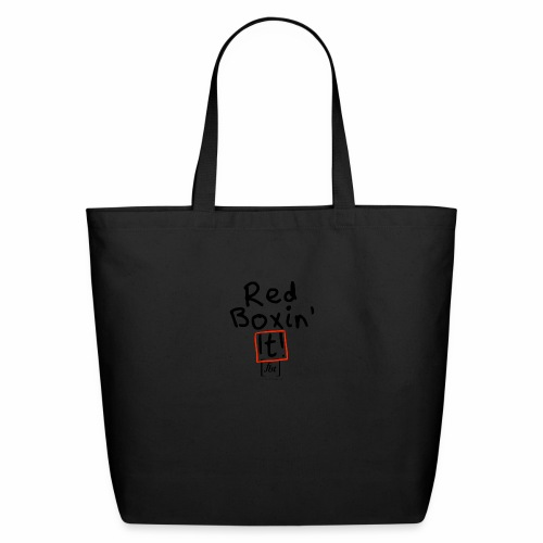 Red Boxin' It! [fbt] - Eco-Friendly Cotton Tote