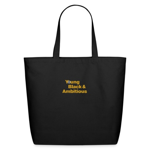 YBA Black and Gold Shirt2 - Eco-Friendly Cotton Tote