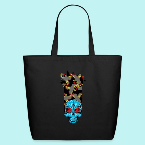 90s KID SKULLY - Eco-Friendly Cotton Tote