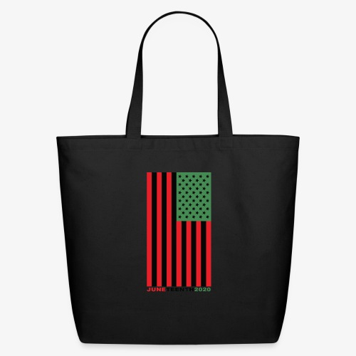 juneteenth003 - Eco-Friendly Cotton Tote