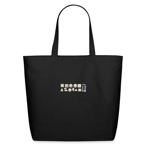 Anyland shapes - Eco-Friendly Cotton Tote