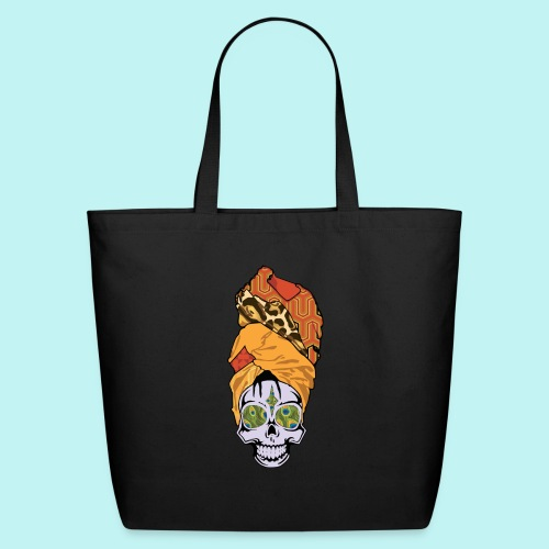 ERYKAH BADU SKULLY - Eco-Friendly Cotton Tote