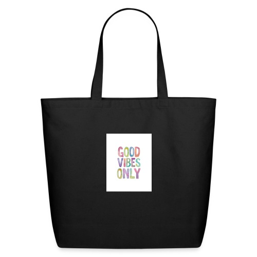 good vibes - Eco-Friendly Cotton Tote