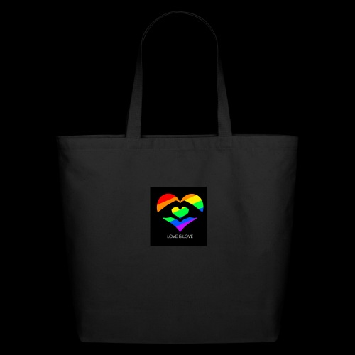 subhan squad love is love logo bag - Eco-Friendly Cotton Tote