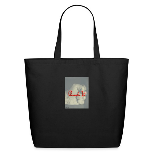 Punch it by Duchess W - Eco-Friendly Cotton Tote