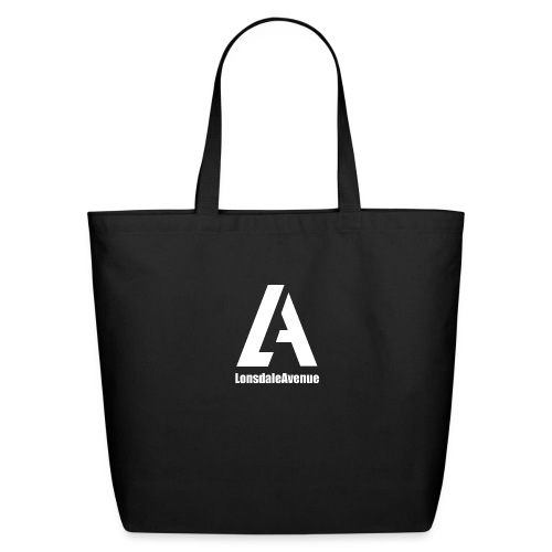 Lonsdale Avenue Logo White Text - Eco-Friendly Cotton Tote