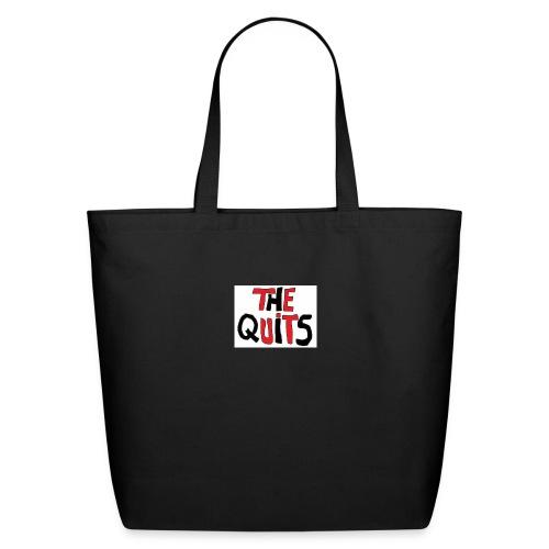 quits logo - Eco-Friendly Cotton Tote