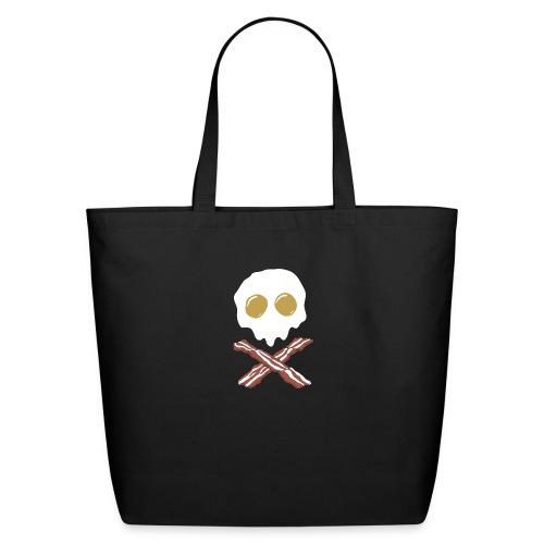 Breakfast Skull - Eco-Friendly Cotton Tote
