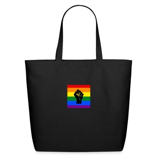 BLM Pride Rainbow Black Lives Matter - Eco-Friendly Cotton Tote
