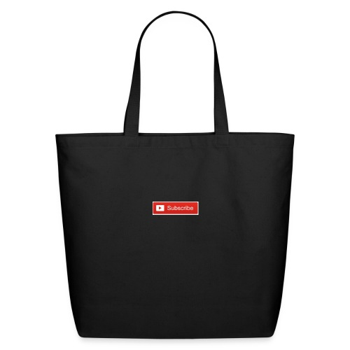 YOUTUBE SUBSCRIBE - Eco-Friendly Cotton Tote