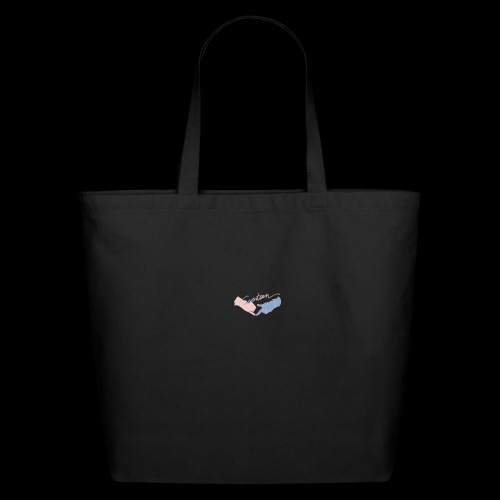 Black T-Shirt - Seventeen - Eco-Friendly Cotton Tote