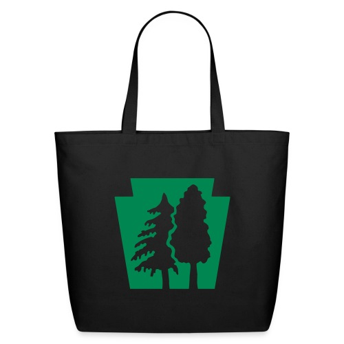 PA Keystone w/trees - Eco-Friendly Cotton Tote