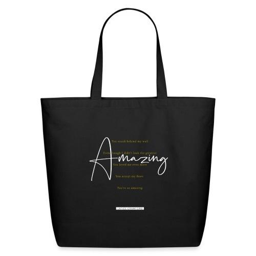 AMAZING (White Design) - Eco-Friendly Cotton Tote