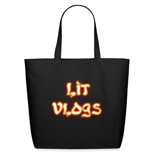 Lit Vlogs Glowing - Eco-Friendly Cotton Tote