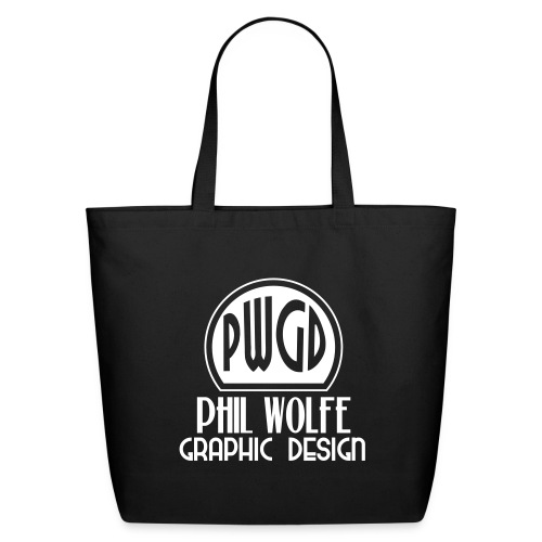 pwgd logo white - Eco-Friendly Cotton Tote