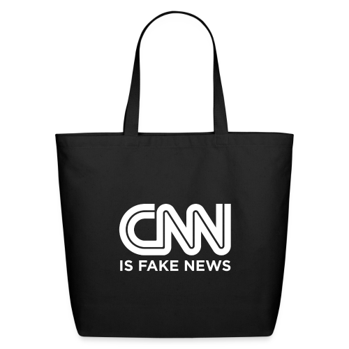 CNN Is Fake News - Eco-Friendly Cotton Tote
