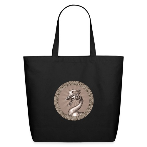 Laughing Dragon - Eco-Friendly Cotton Tote