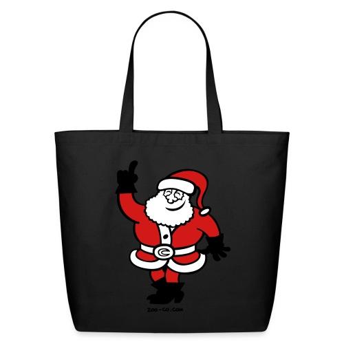 Santa Claus Celebrating - Eco-Friendly Cotton Tote