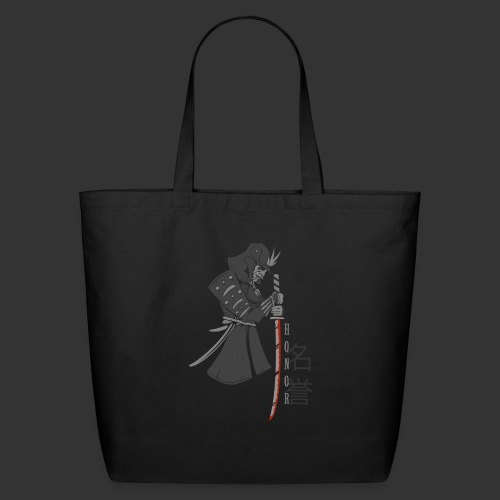 Samurai (Digital Print) - Eco-Friendly Cotton Tote