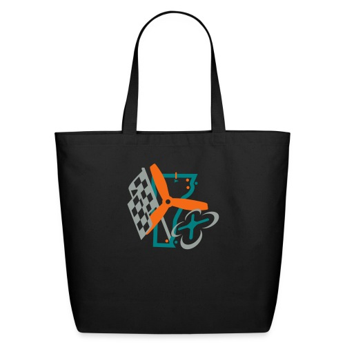 Multirotor Vermont (shadowless vector) - Eco-Friendly Cotton Tote