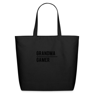 GrandmaGamer_Shirt - Eco-Friendly Cotton Tote