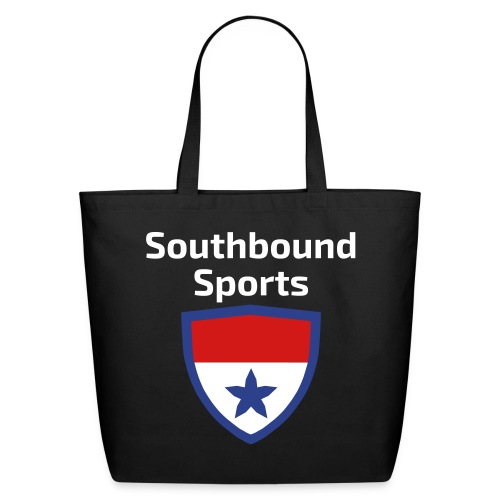 The Southbound Sports Shield Logo. - Eco-Friendly Cotton Tote