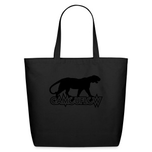 Camouflow Panther Logo - Eco-Friendly Cotton Tote