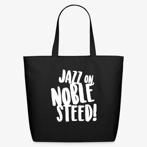 MSS Jazz on Noble Steed - Eco-Friendly Cotton Tote