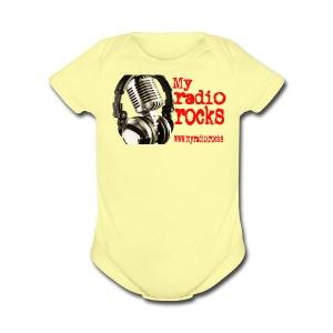 My Radio.Rocks Appearal - Short Sleeve Baby Bodysuit