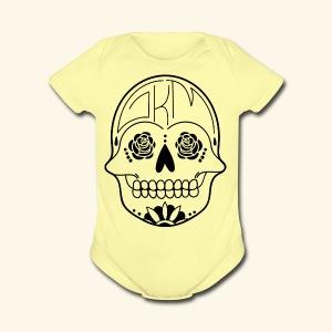 GKM LOGO - Short Sleeve Baby Bodysuit