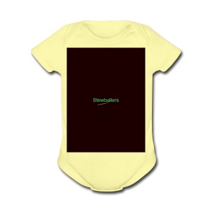 merch - Short Sleeve Baby Bodysuit